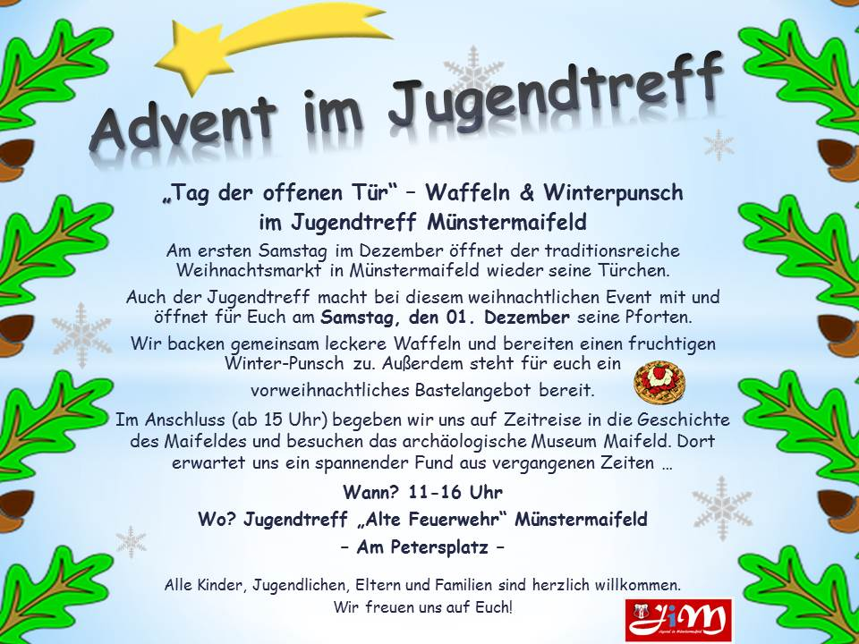 Advent Jugendtreff